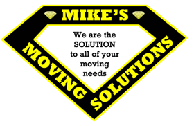 Mike's Moving Solutions truck